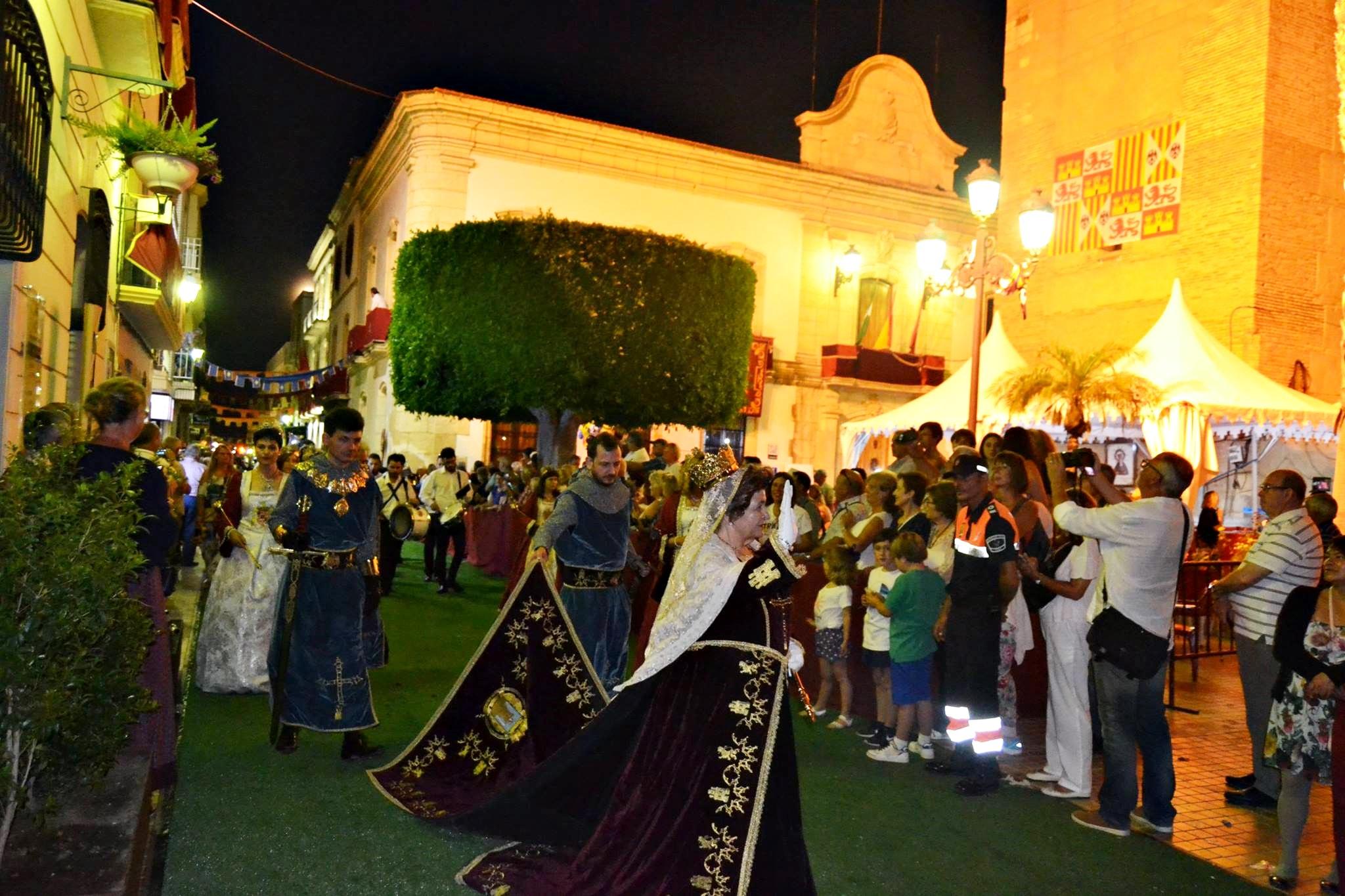 Moros Cristianos fiestas populares Vera