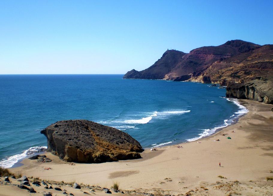 Cabo de Gata Playa de Mónsul