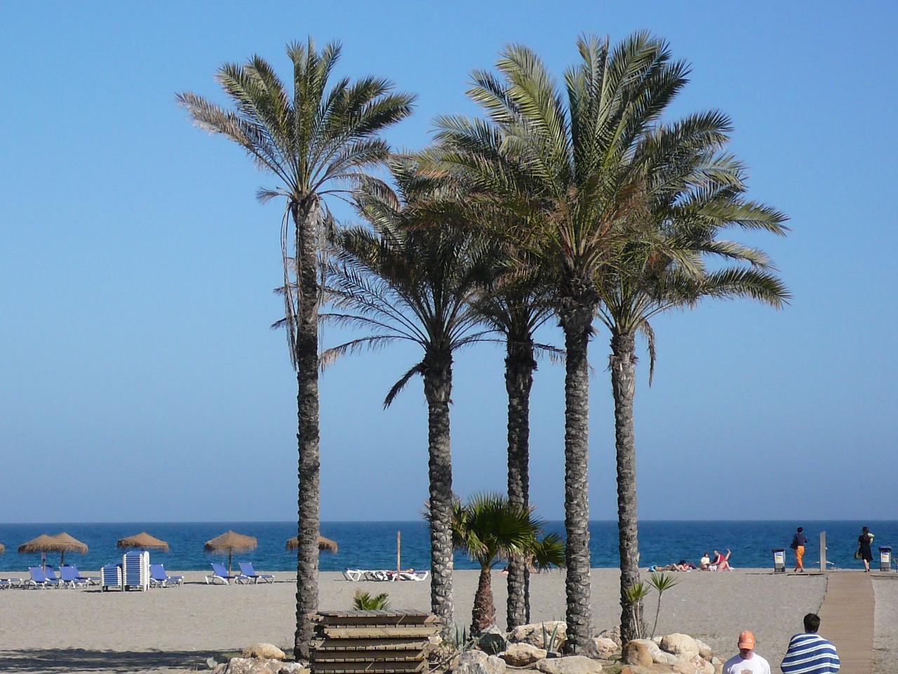 The beaches of Vera Playa